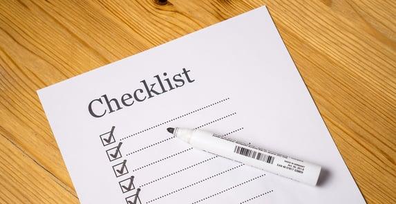 prostate cancer patient checklist